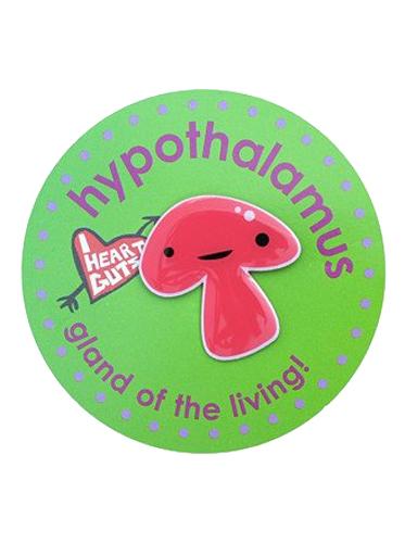 Gland Lapel Pin - Hypothalamus
