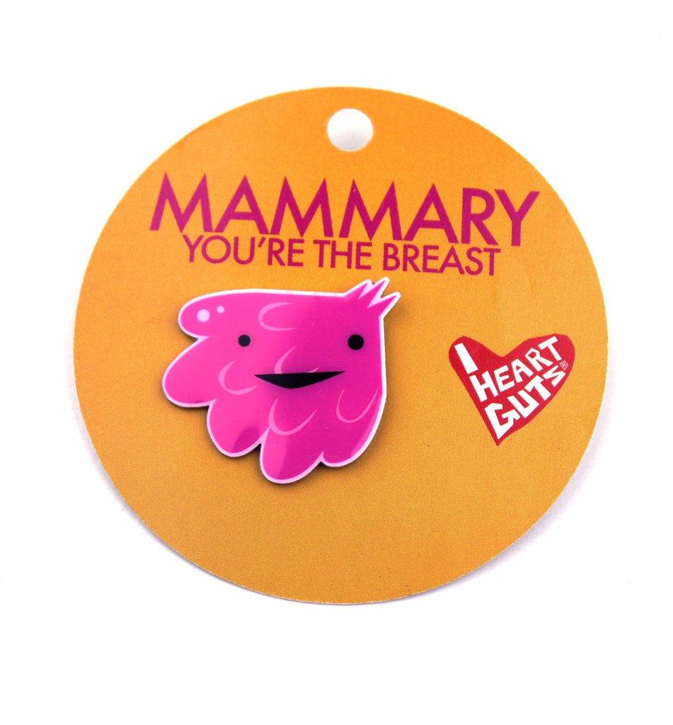 Gland Lapel Pin - Mammary