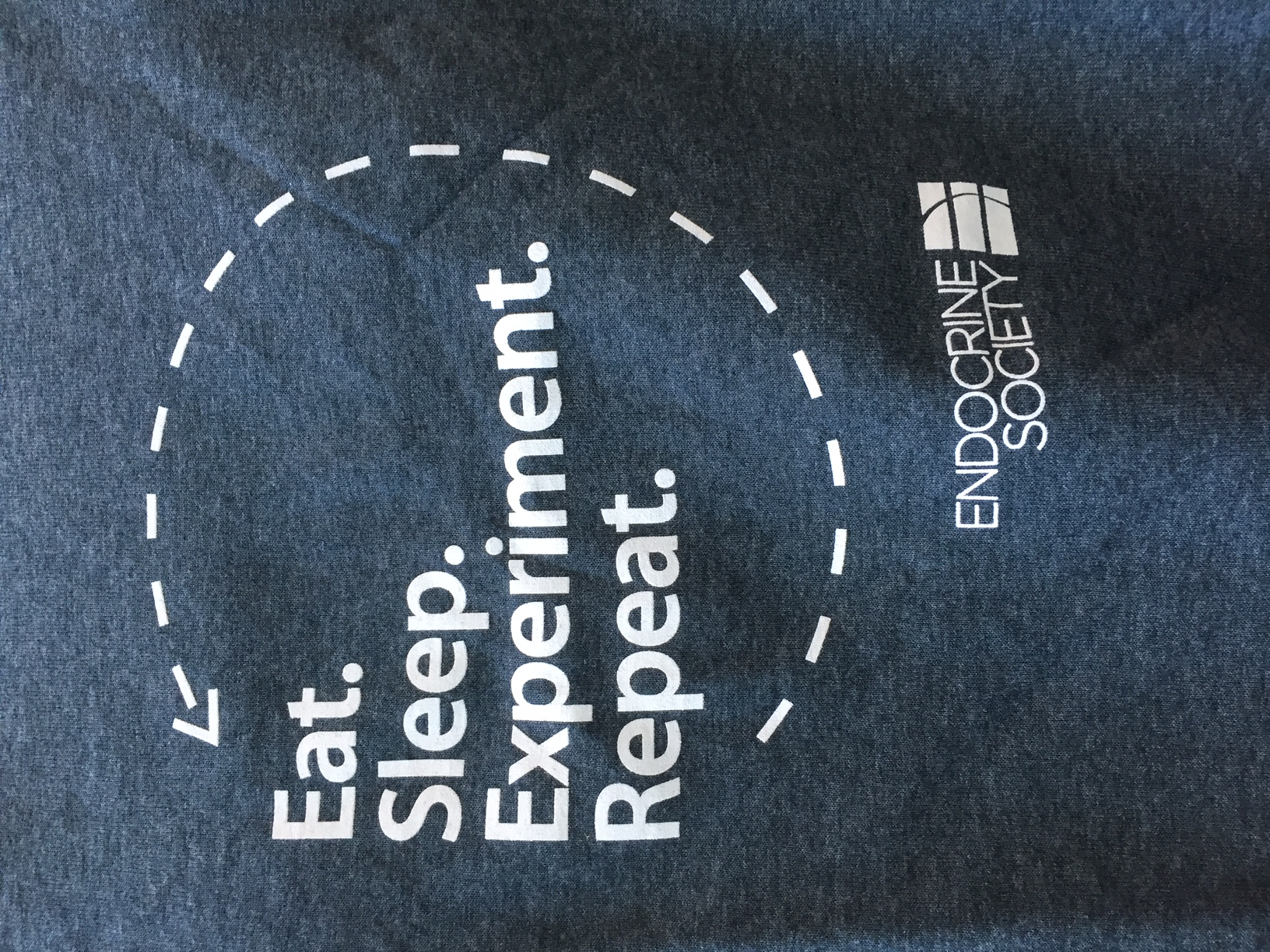 Eat Sleep Experiment Repeat T-Shirt (Large)