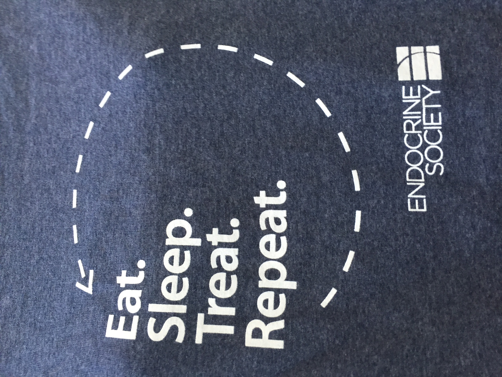 Eat Sleep Treat Repeat T-Shirt (Large)